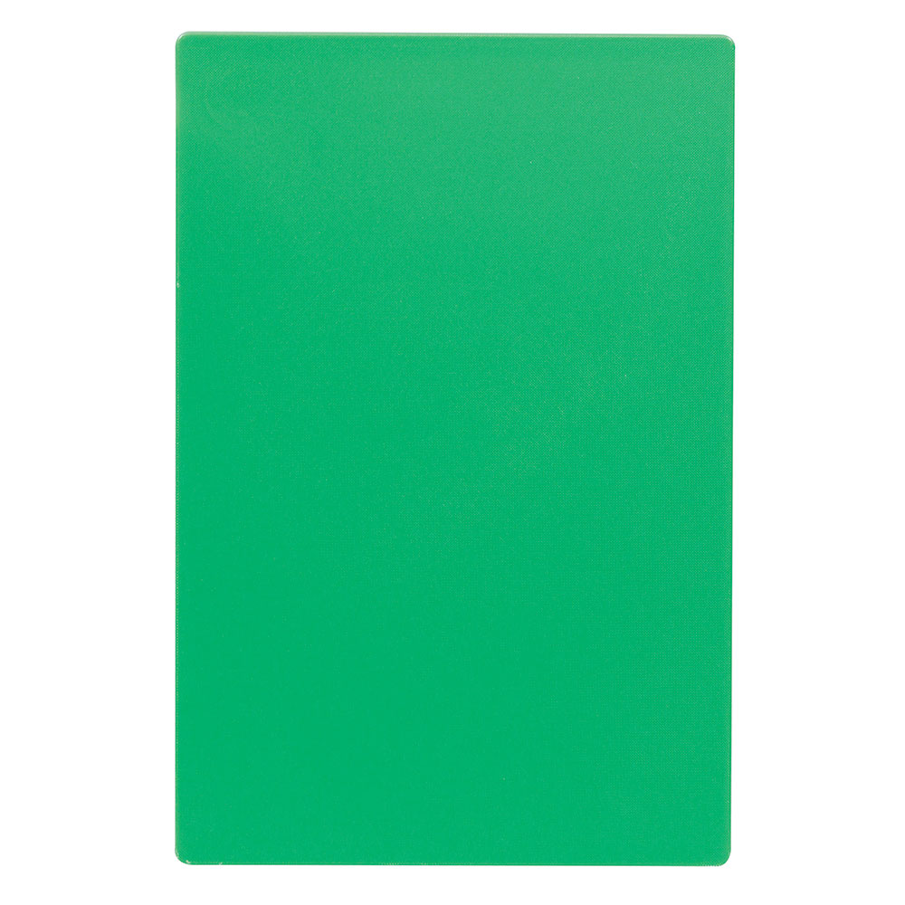 "Tablecraft CB1520GNA Green Polyethylene Cutting Board, 15 x 20 x 1/2"", NSF Approved"