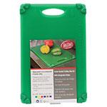 """Tablecraft CBG1218AGN Cutting Board w/ Anti-Slip Grips, 12"""" x 18"""", Polyethylene, Green"""