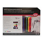 "Tablecraft CBG1520APK6 Cutting Board Kit w/ Anti-Slip Grips, (6) 15"" x 20"" Boards, Polyethylene"