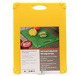 "Tablecraft CBG1520AYL Cutting Board w/ Anti-Slip Grips, 15"" x 20"", Polyethylene, Yellow"