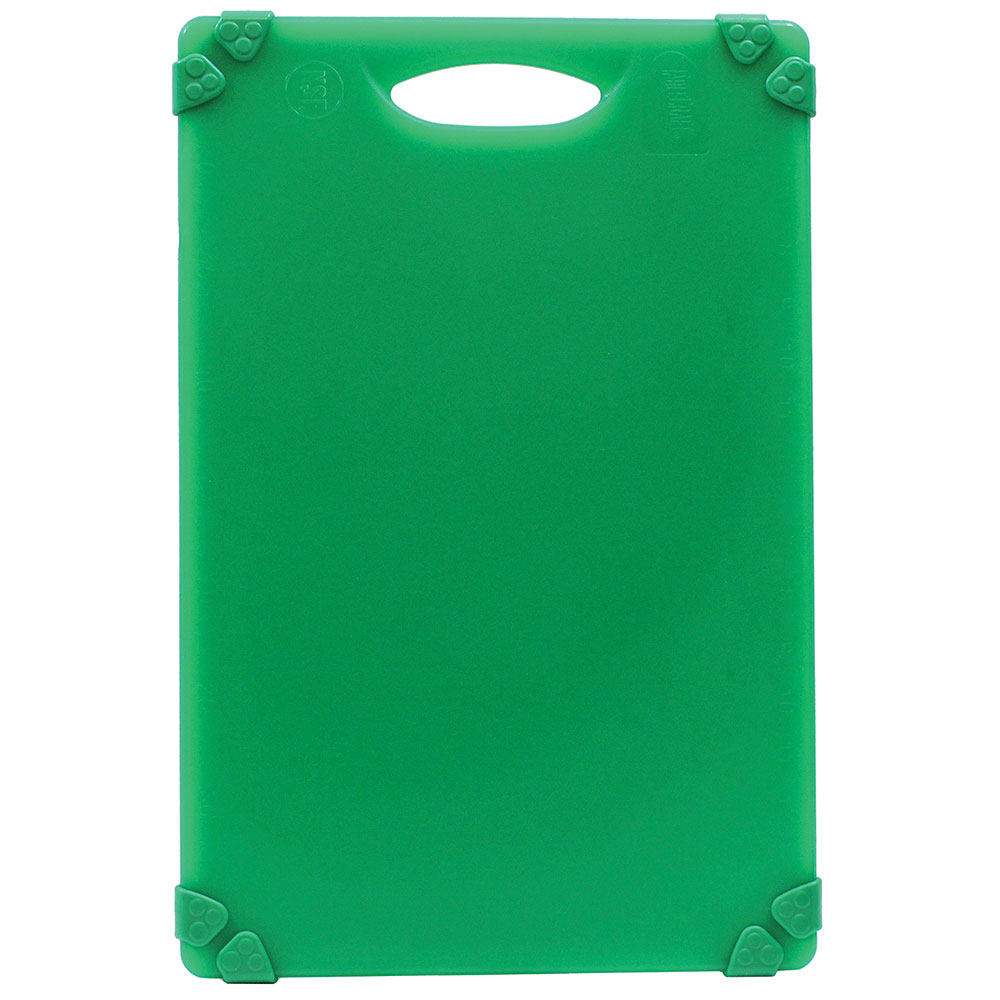 """Tablecraft CBG1824AGN Cutting Board w/ Anti-Slip Grips, 18"""" x 24"""", Polyethylene, Green"""