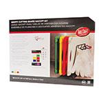 "Tablecraft CBG1824APK4 Cutting Board Kit w/ Anti-Slip Grips, (4) 18"" x 24"" Boards, Polyethylene"
