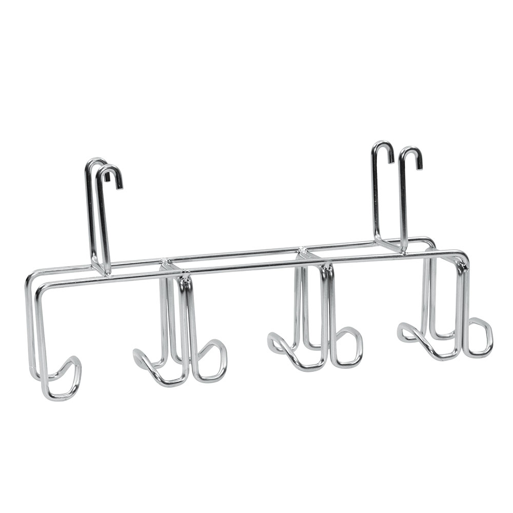 "Tablecraft CBRS7 Hanging Cutting Board Rack - 13"" x 3.75"" x 6"", Stainless"