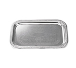 Tablecraft CT2114 Rectangular Serving Tray, 21.5 x 14 in, Chrome Plated
