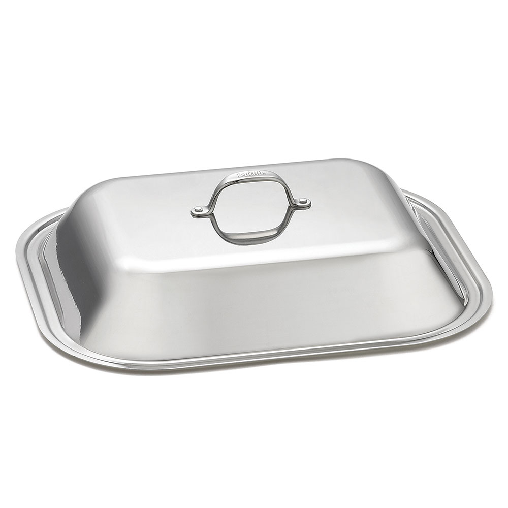 "Tablecraft CW2034L Cover for Roaster Pan, 17"" x 14"", Stainless"