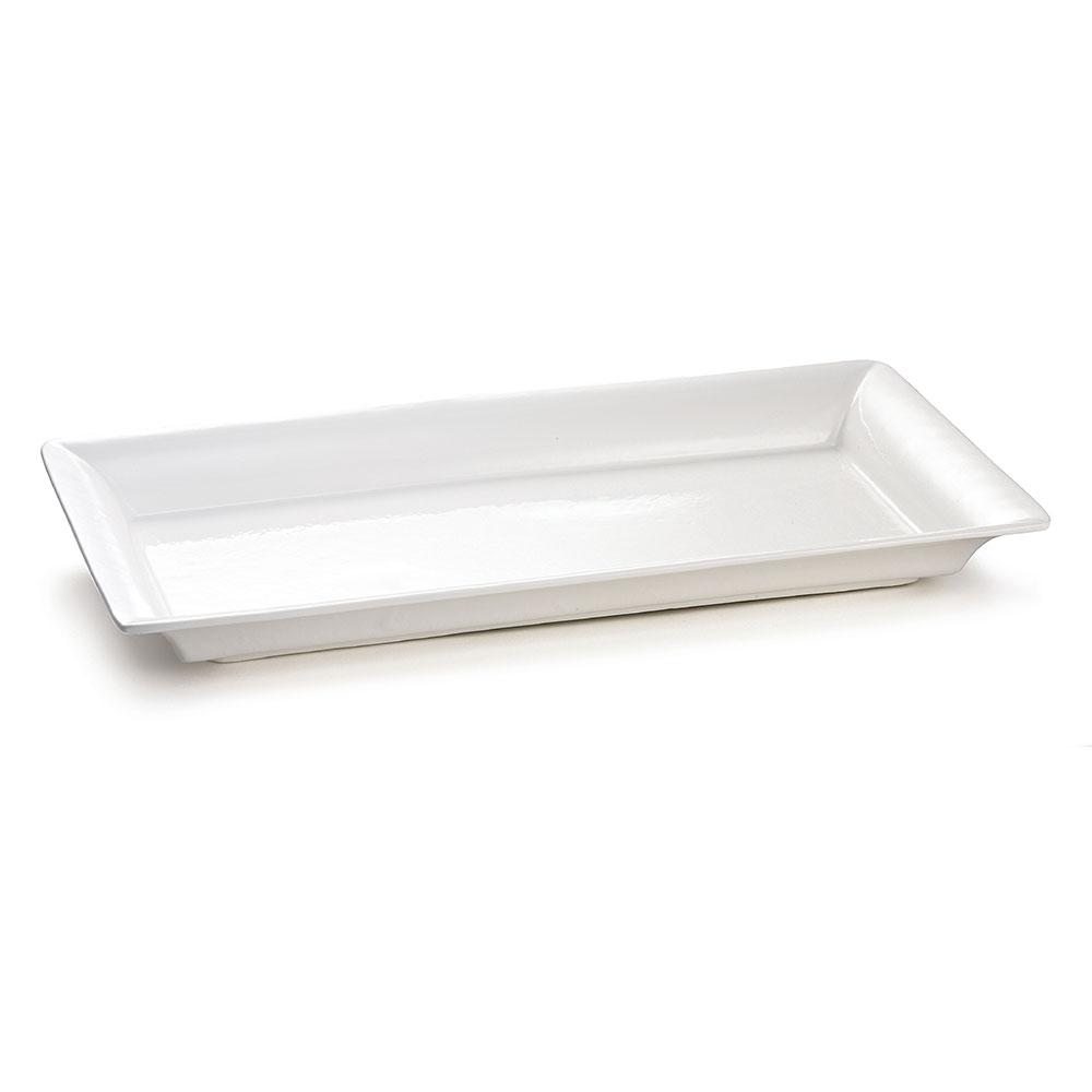 """Tablecraft CW2110W Rectangular Platter, 21.5"""" x 12"""", Aluminum"""