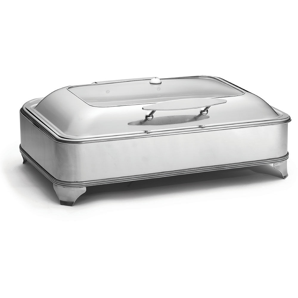 Tablecraft CW40160 Full Size Chafer w/ Lift-off Lid & Electric Heat