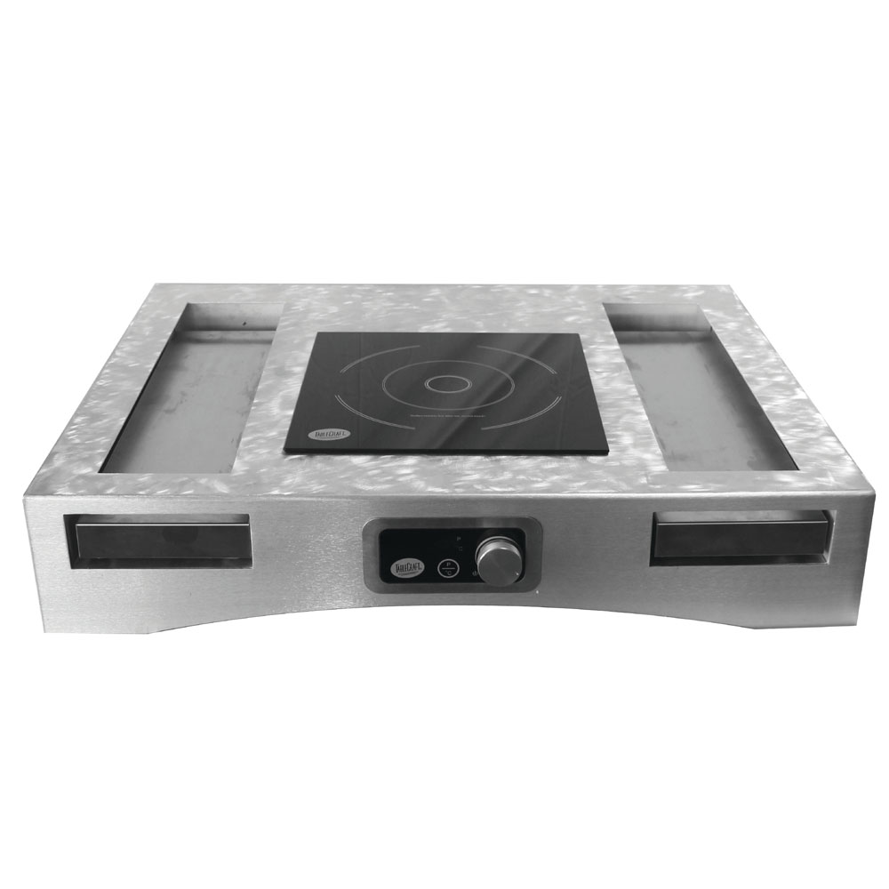 Tablecraft CWACTION1RSA Induction Countertop Station Kit w/ Drop-in Electric Induction Cooktop, 120v
