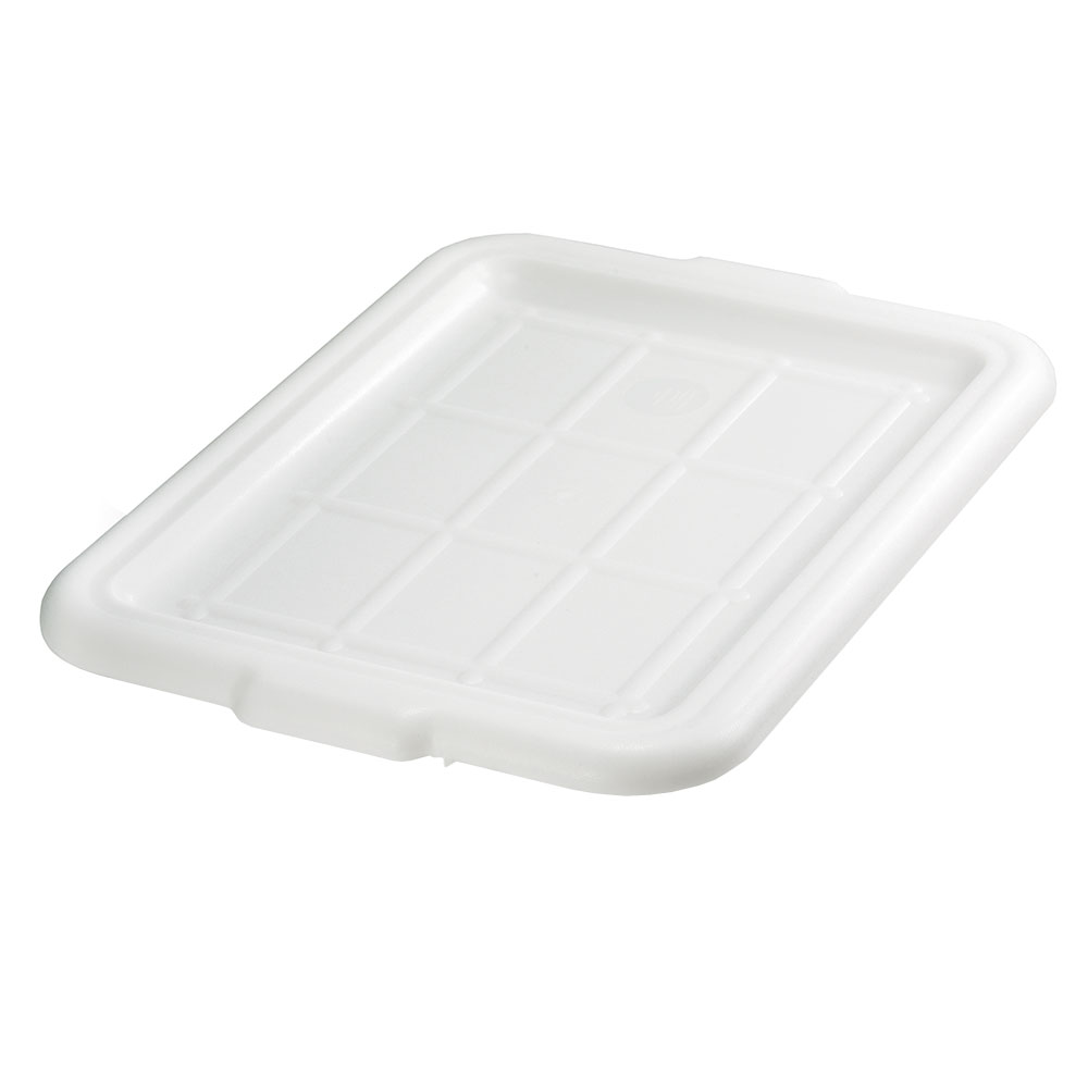 Tablecraft F1531 White Polyethylene Freezer Storage Box Cover