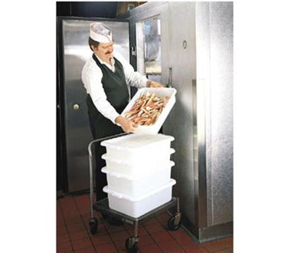 Tablecraft F1537 Food Storage Box, Freezer Proof, Milky White
