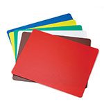 "Tablecraft FCB1824A Polyethylene Flexible Cutting Mat, 18 x 24"", Assorted Colors"