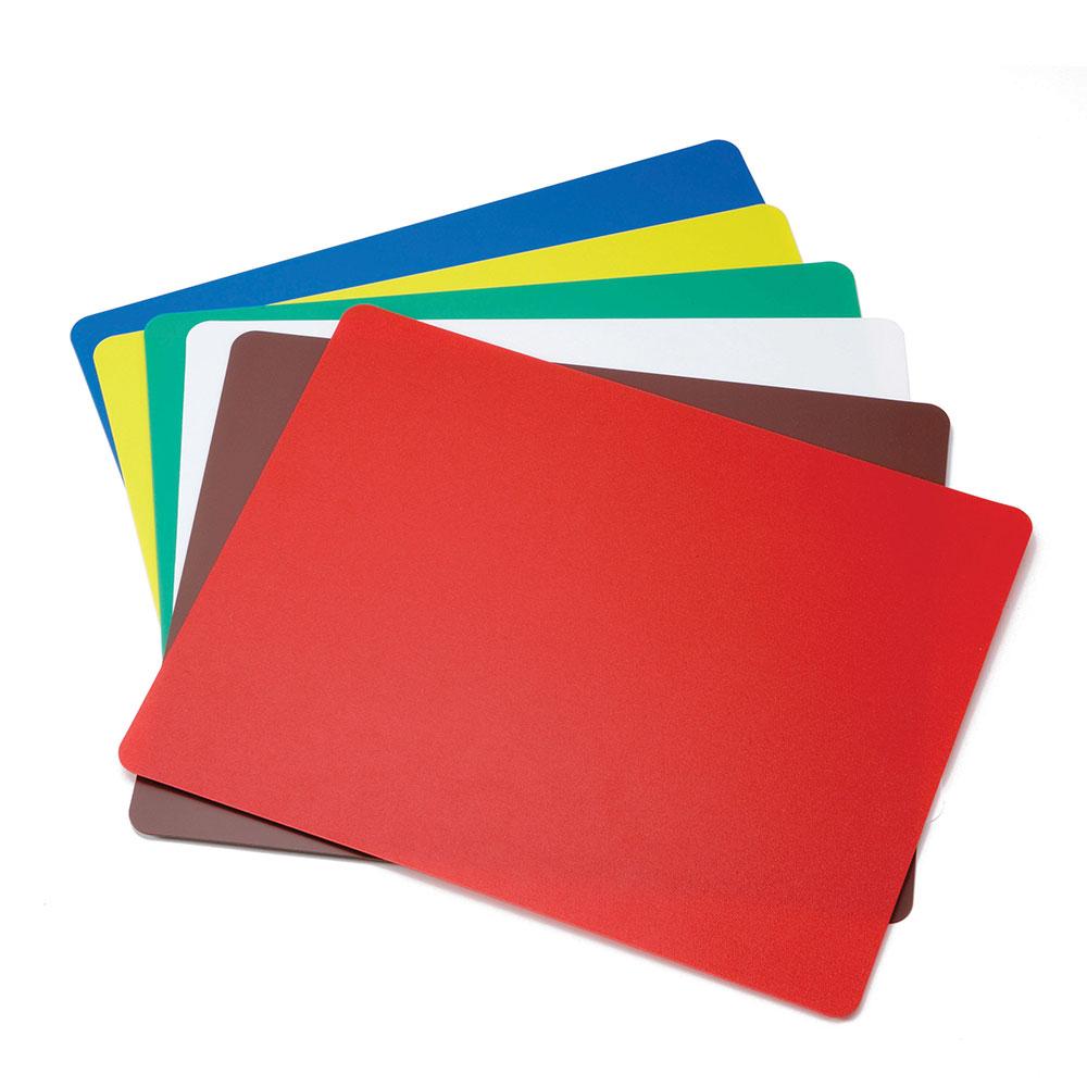 Tablecraft FCB1824A Polyethylene Flexible Cutting Mat, 18 x 24-in, Assorted Colors
