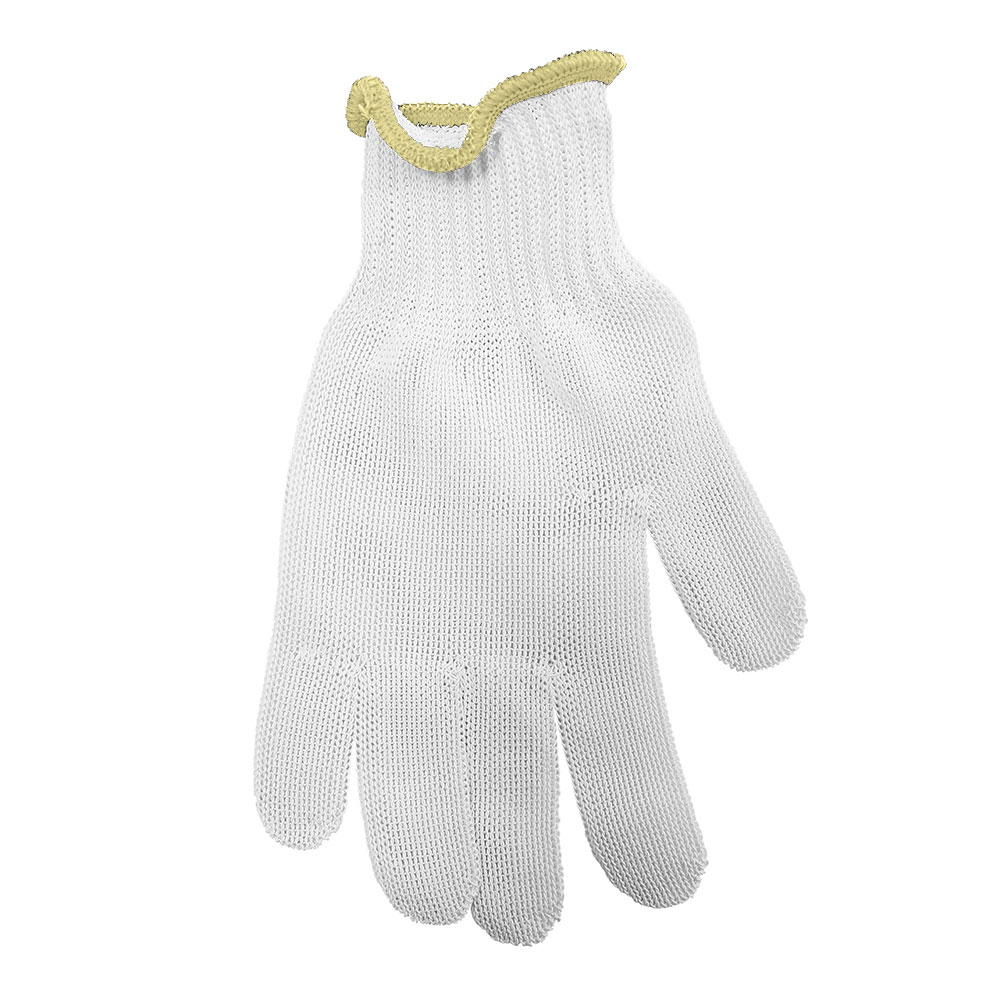 Tablecraft GLOVE2 The ProTector Cut Resistant Glove, Small, Yellow Cuff