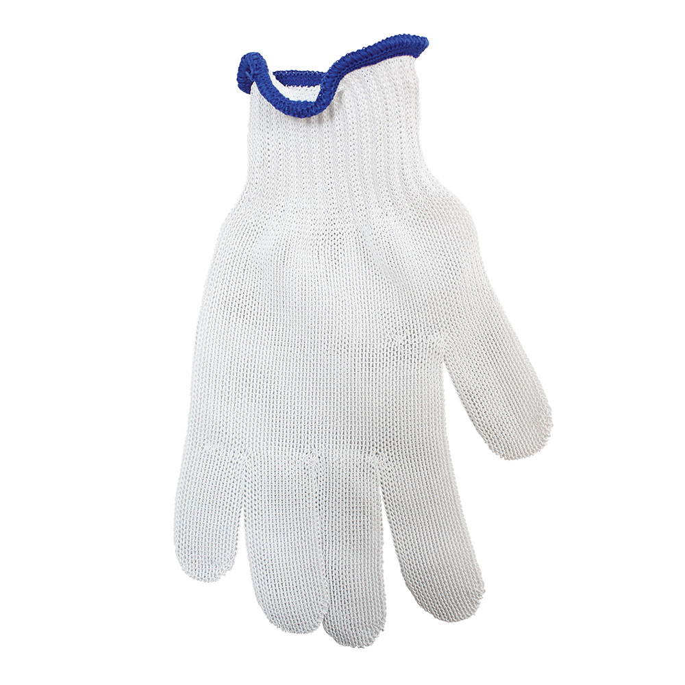 Tablecraft GLOVE4 The ProTector Cut Resistant Glove, Large, Blue Cuff