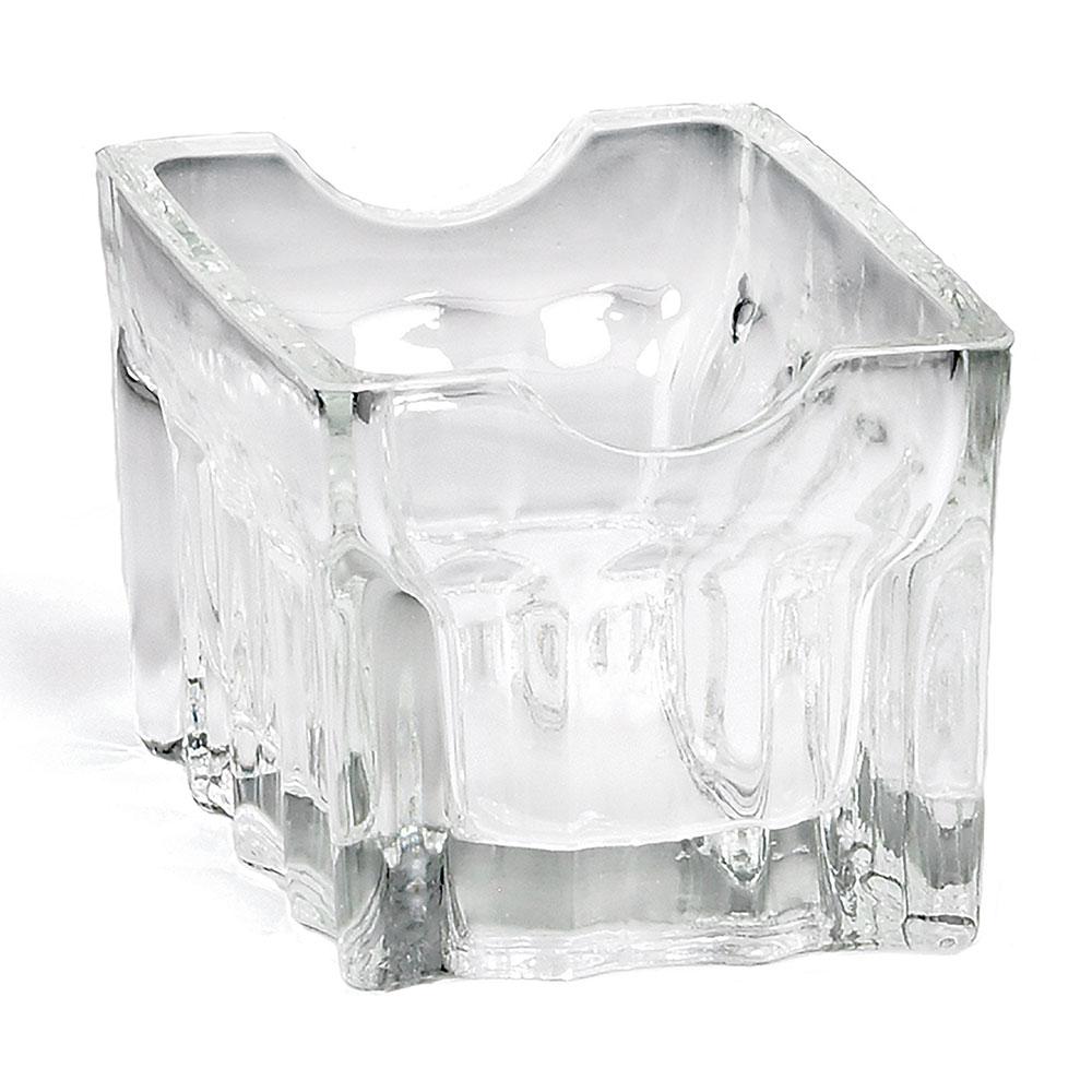 """Tablecraft H121 Fluted Glass Sugar Packet Rack, 3-1/2 x 2-1/2 x 1-3/4"""""""