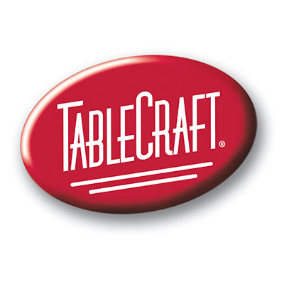 Tablecraft 821U 6-3/4-in Stainless Steel Cake Stand, Unassembled
