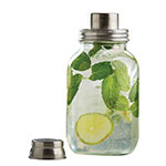 Tablecraft MJS30 30-oz Mason Jar Cocktail Shaker - Glass