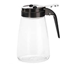Tablecraft P10BK 10-oz Polycarbonate Dispenser w/ ABS Top, Black