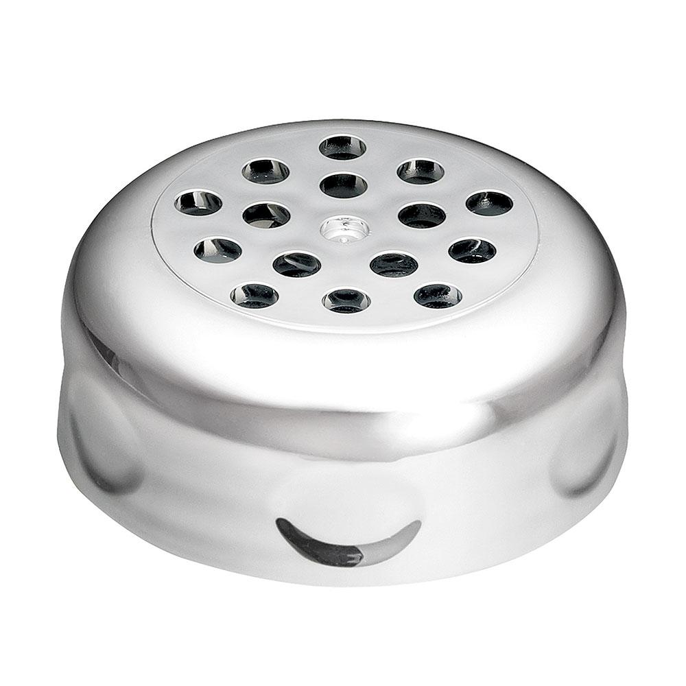 Tablecraft P260CH 6-oz Swirl Plastic Shaker w/ Perforated Top, BPA Free, Chrome