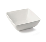 Tablecraft PB125 Square Glacier Collection Porcelain Bowl, 12 x 5 in, White