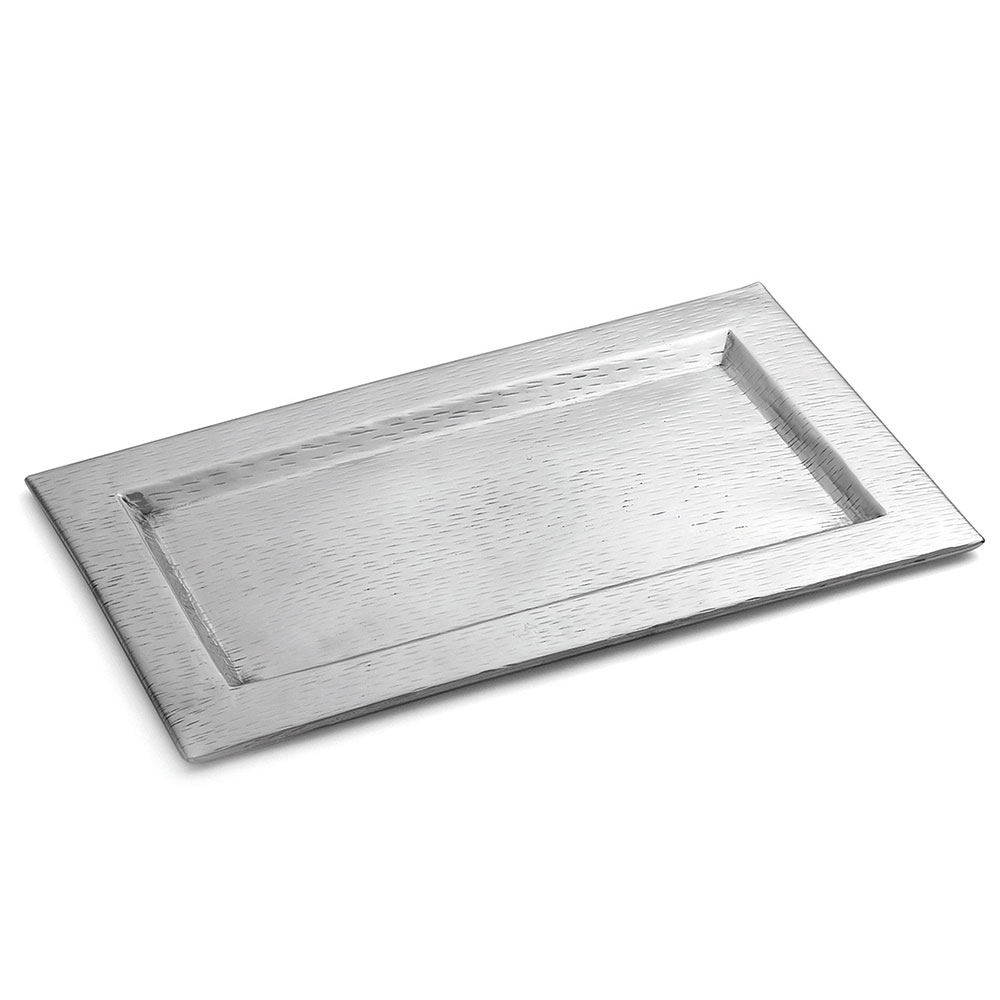 Tablecraft R169 Remington Collection Tray, 15-1/2 x 9-1/4 in, Rectangular, Stainless Steel