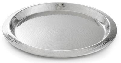Tablecraft R16 Remington Collection Tray, 16 in, Round, Stain