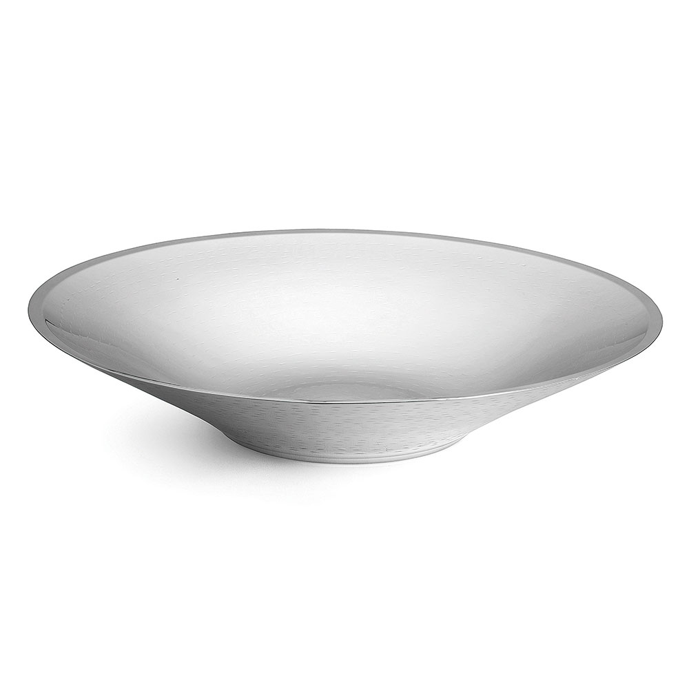 Tablecraft RB184 Round Remington Collection Bowl, Double Wall, 17.75 x 3.5 in, Stainless Steel