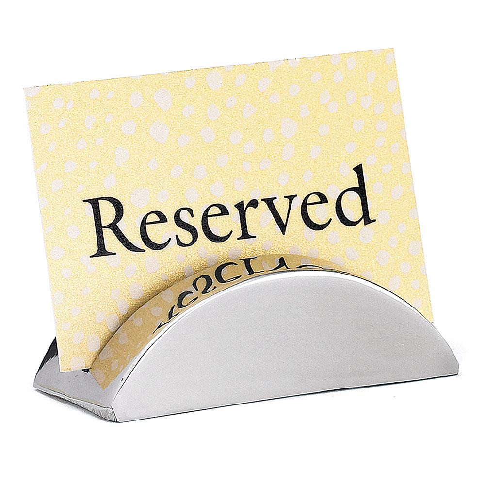 """Tablecraft RCH21 Stainless Steel Card Holder, 2 x 1"""""""