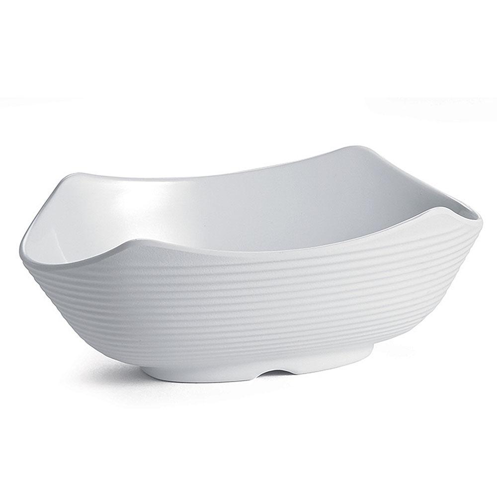 Tablecraft RIBW5W 5-oz Oval Sauce Bowl - Melamine, White