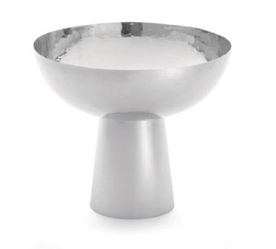 Tablecraft RP1412 Remington Collection Pedestal Bowl, 14 x 12-1/4 in, Round, Stainless Steel