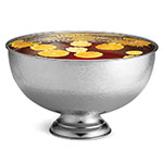 Tablecraft RPB1513 Round Punch Bowl, 14 qt, Stainless Steel