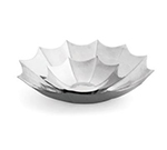 Tablecraft RU13 Remington Collection Umbrella Bowl, 13 x 3 in, Round, Stainless Steel