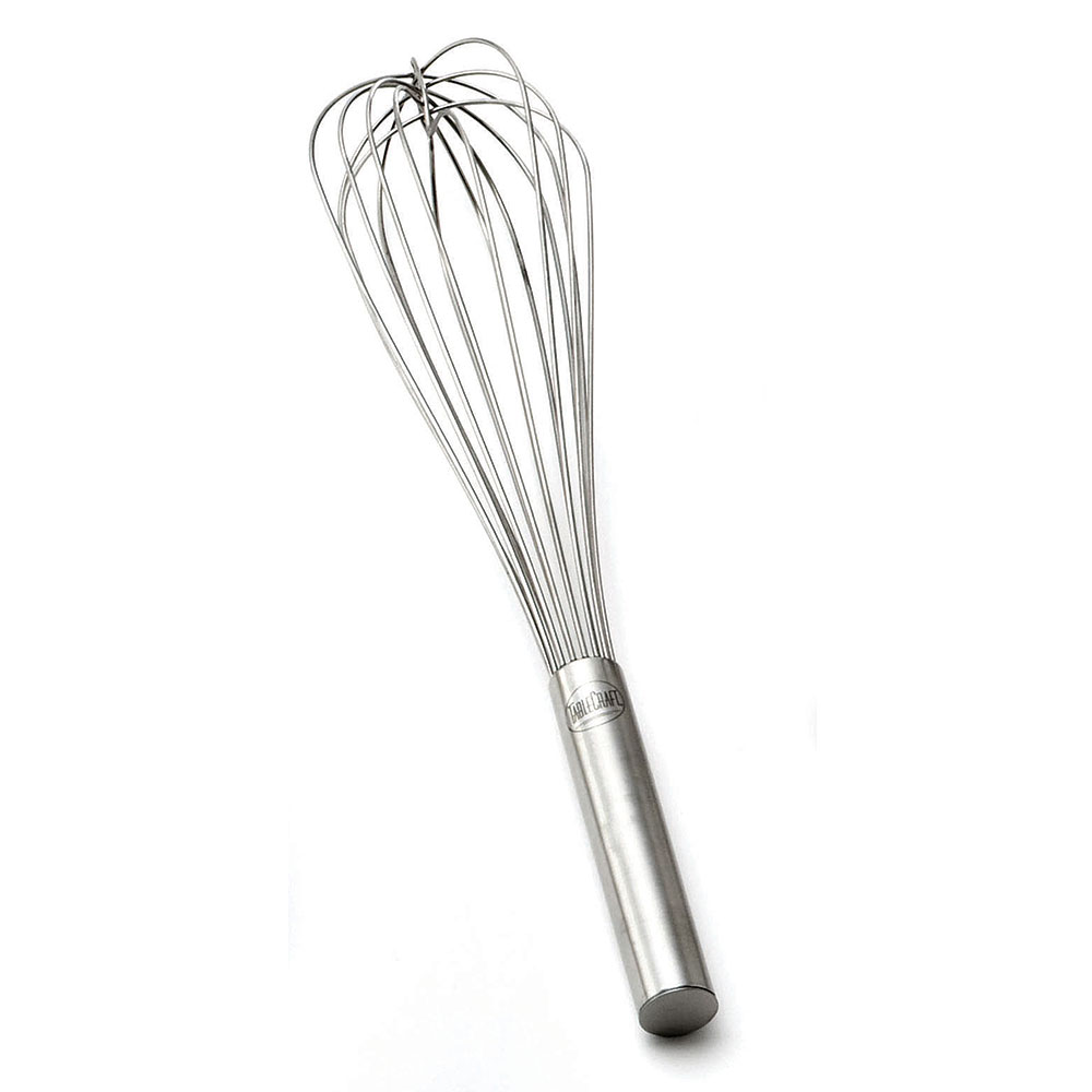 """Tablecraft SF16 16"""" Stainless Steel French Whip w/ Sealed Wires"""