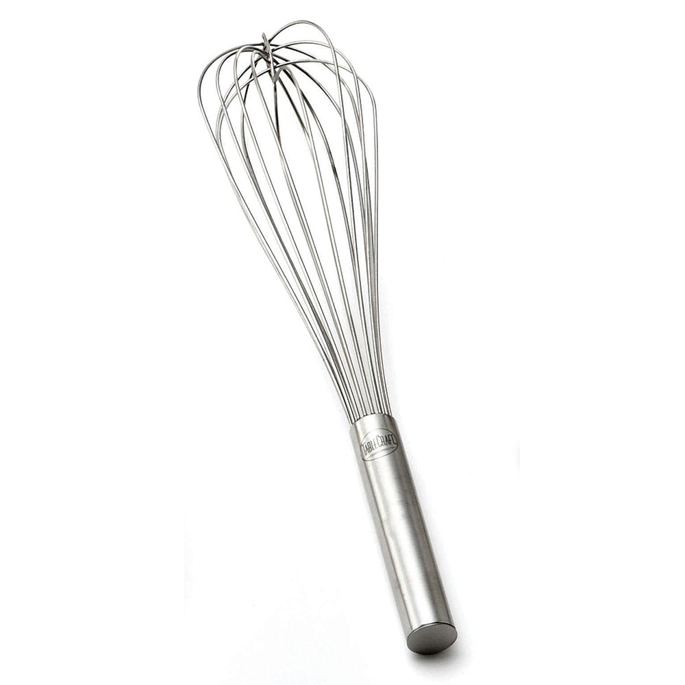 """Tablecraft SF24 24"""" Stainless Steel French Whip w/ Sealed Wired"""