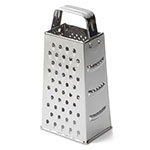 Tablecraft SG200 Stainless Steel Tapered Grater, 3 x 4 x 9""