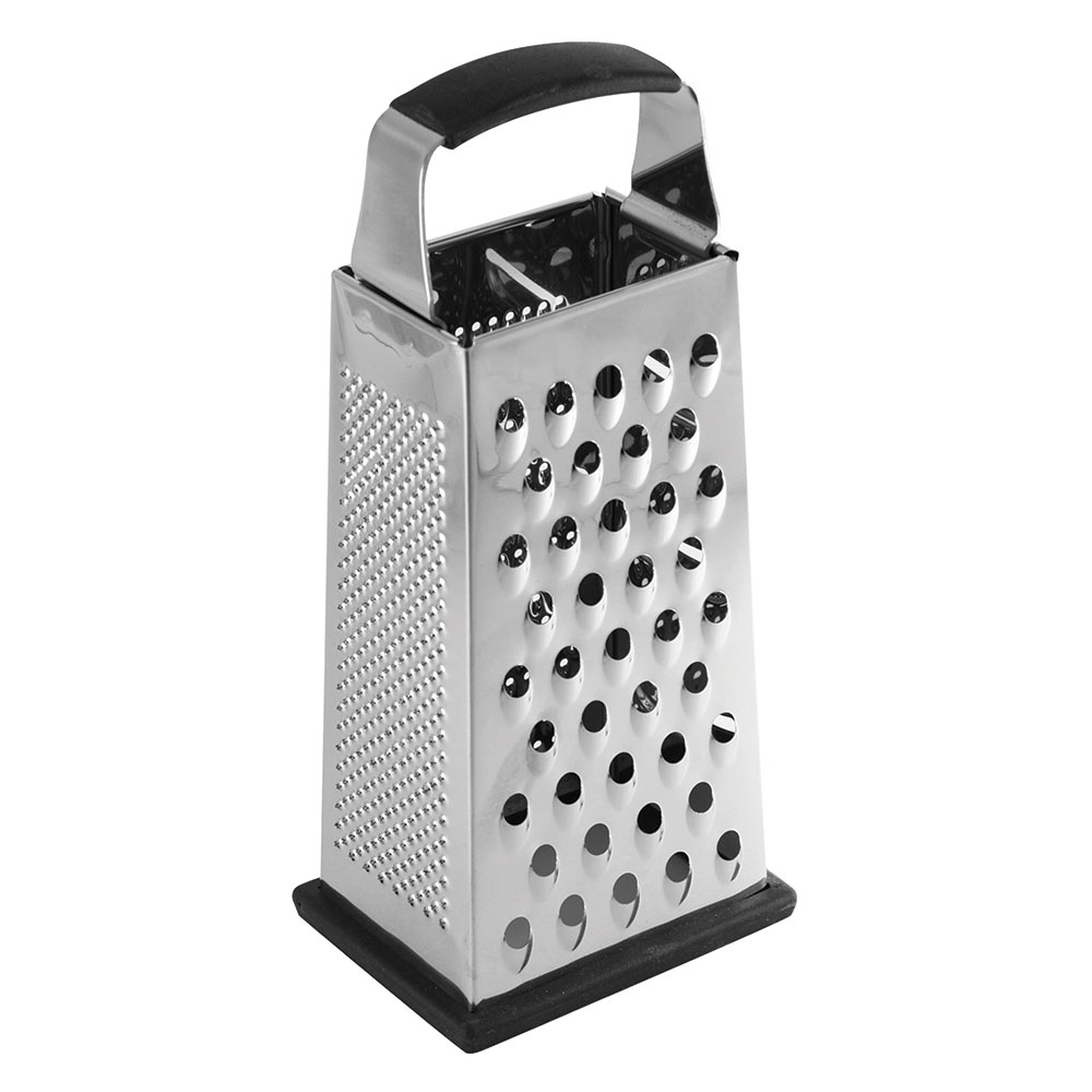 "Tablecraft SG205BH 9"" Box Grater w/ Handle, Stainless"