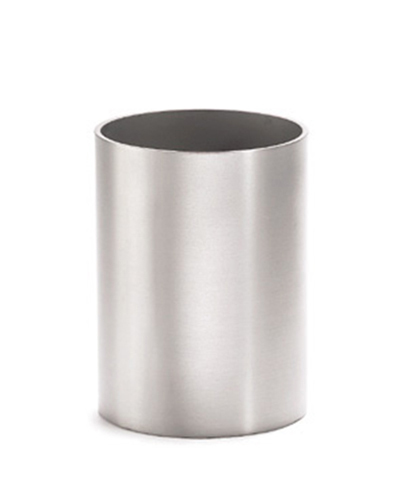 Tablecraft 1155 Stainless Steel Sugar Packet Holder, 2 x 2-3/4-in, Round