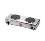 Tablecraft 115A Double Rangette w/ Chrome Plated Finish, 1650W/120V
