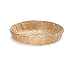 Tablecraft 1169W Handwoven Basket, 10 x 1-1/2-in Round, Natural