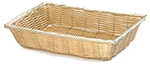 Tablecraft 1187W Handwoven Basket, 10 x 7-1/4 x 2-3/4-in, Polypropylene Cord