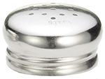 Tablecraft 132T Stainless Steel Salt Pepper Top