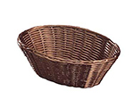 Tablecraft 1476 Handwoven Basket, 10 x 6-1/2 x 3-in, Polypropylene Cord, Brown
