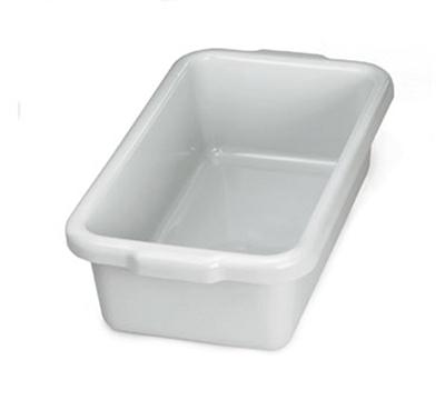 Tablecraft 1527G Gray Stackable Undercounter Box, 21 x 12 x 6-1/4-in, Polyethylene