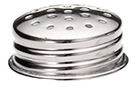 Tablecraft 152T Stainless Steel Salt Pepper Shaker Top, For 152 & 157