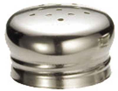 Tablecraft 156T Stainless Steel Shaker Top, Fits Model Number 156
