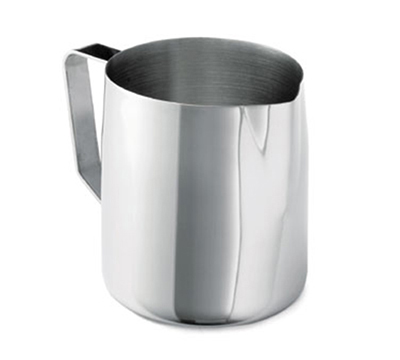 Tablecraft 2036 32-36-oz Stainless Steel Frothing Cup, Mirror Finished