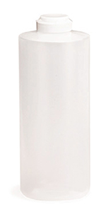 Tablecraft 2132C 32-oz Squeeze Dispenser, Soft Polyethylene, Natural, White