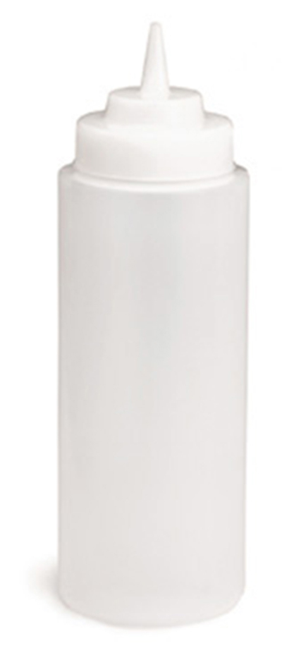 Tablecraft 23363C 32-oz Squeeze Dispenser, Soft Polyethylene, Natural,