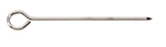 Tablecraft 2606 Stainless Steel Skewer, 6-in Round