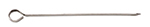 Tablecraft 2610 Stainless Steel Skewer, 10-in Round